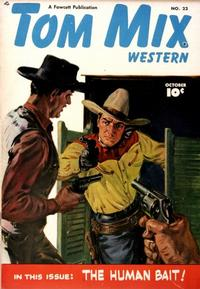 Cover Thumbnail for Tom Mix Western (Fawcett, 1948 series) #22