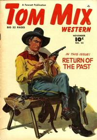 Cover Thumbnail for Tom Mix Western (Fawcett, 1948 series) #23