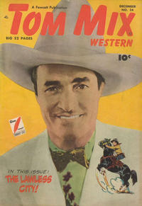 Cover Thumbnail for Tom Mix Western (Fawcett, 1948 series) #24