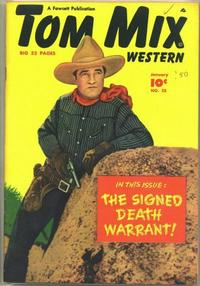 Cover Thumbnail for Tom Mix Western (Fawcett, 1948 series) #25