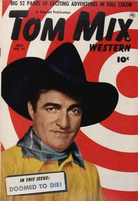 Cover Thumbnail for Tom Mix Western (Fawcett, 1948 series) #31