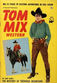 Cover Thumbnail for Tom Mix Western (Fawcett, 1948 series) #32