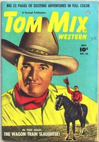 Cover Thumbnail for Tom Mix Western (Fawcett, 1948 series) #33