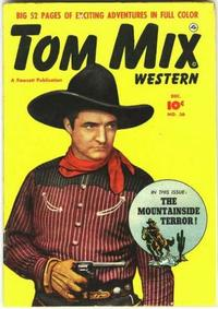 Cover Thumbnail for Tom Mix Western (Fawcett, 1948 series) #36