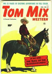 Cover Thumbnail for Tom Mix Western (Fawcett, 1948 series) #37