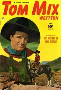 Cover Thumbnail for Tom Mix Western (Fawcett, 1948 series) #38