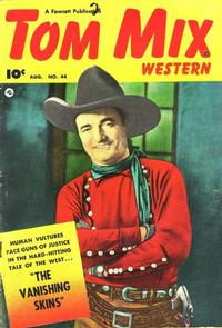 Cover Thumbnail for Tom Mix Western (Fawcett, 1948 series) #44