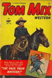 Cover Thumbnail for Tom Mix Western (Fawcett, 1948 series) #50