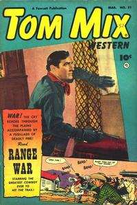 Cover Thumbnail for Tom Mix Western (Fawcett, 1948 series) #51