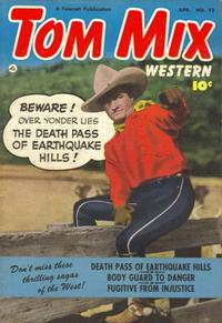 Cover Thumbnail for Tom Mix Western (Fawcett, 1948 series) #52