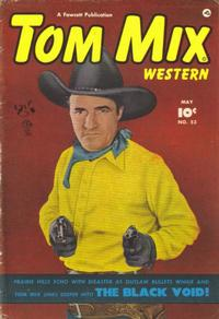 Cover Thumbnail for Tom Mix Western (Fawcett, 1948 series) #53