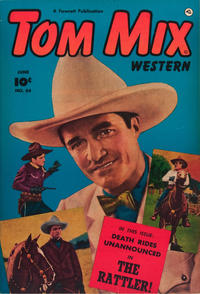 Cover Thumbnail for Tom Mix Western (Fawcett, 1948 series) #54