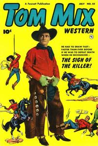 Cover Thumbnail for Tom Mix Western (Fawcett, 1948 series) #55