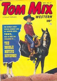 Cover Thumbnail for Tom Mix Western (Fawcett, 1948 series) #57