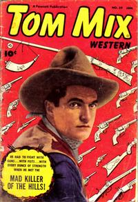 Cover Thumbnail for Tom Mix Western (Fawcett, 1948 series) #59