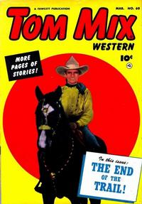 Cover Thumbnail for Tom Mix Western (Fawcett, 1948 series) #60