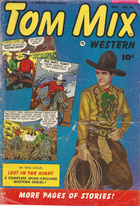 Cover Thumbnail for Tom Mix Western (Fawcett, 1948 series) #61