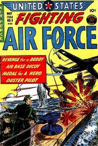 Cover Thumbnail for U.S. Fighting Air Force (Superior Publishers Limited, 1952 series) #8