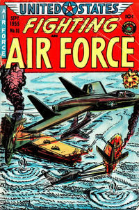 Cover Thumbnail for U.S. Fighting Air Force (Superior Publishers Limited, 1952 series) #16
