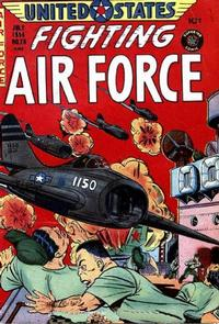 Cover Thumbnail for U.S. Fighting Air Force (Superior Publishers Limited, 1952 series) #26