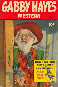Cover Thumbnail for Gabby Hayes Western (Anglo-American Publishing Company Limited, 1949 series) #1