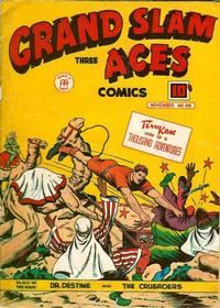 Cover Thumbnail for Grand Slam Three Aces Comics (Anglo-American Publishing Company Limited, 1945 series) #48