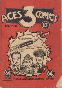 Cover Thumbnail for Three Aces Comics (Anglo-American Publishing Company Limited, 1941 series) #v1#1 [1]