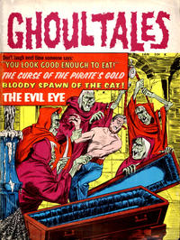 Cover for Ghoul Tales (Stanley Morse, 1970 series) #2