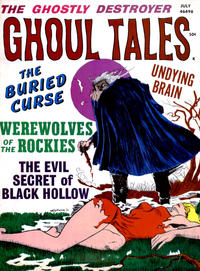 Cover Thumbnail for Ghoul Tales (Stanley Morse, 1970 series) #5