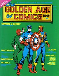 Cover Thumbnail for Golden Age of Comics (New Media Publishing, 1982 series) #3