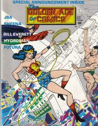 Cover Thumbnail for Golden Age of Comics (New Media Publishing, 1982 series) #8