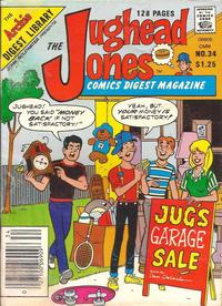 Cover Thumbnail for The Jughead Jones Comics Digest (Archie, 1977 series) #34