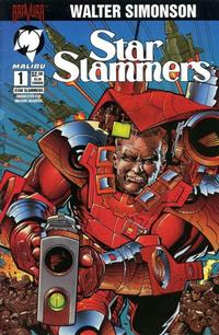 Cover Thumbnail for Star Slammers (Malibu, 1994 series) #1 [Regular Edition]