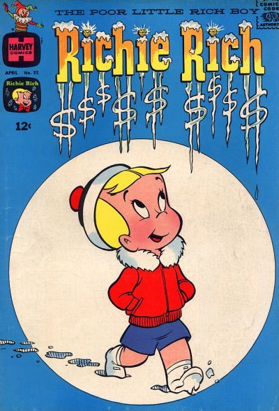 Cover for Richie Rich (Harvey, 1960 series) #32