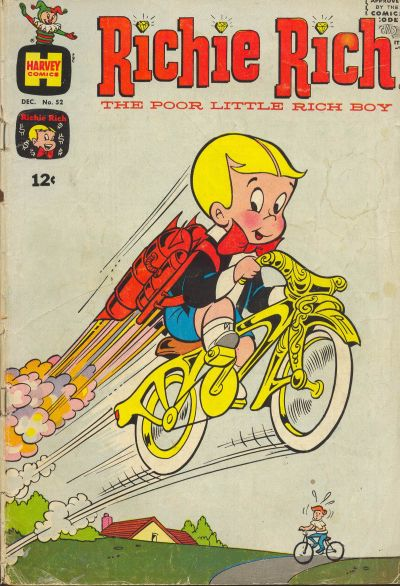 Cover for Richie Rich (Harvey, 1960 series) #52