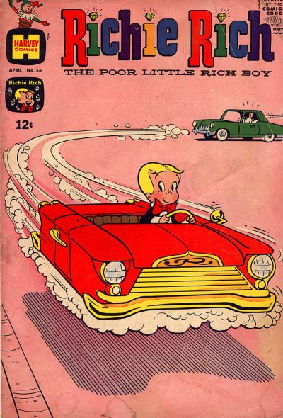 Cover for Richie Rich (Harvey, 1960 series) #56