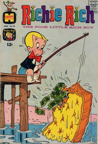 Cover for Richie Rich (Harvey, 1960 series) #58