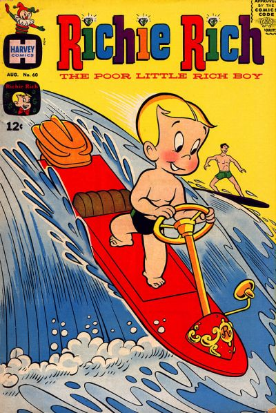 Cover for Richie Rich (Harvey, 1960 series) #60