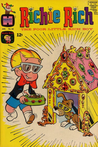 Cover for Richie Rich (Harvey, 1960 series) #65