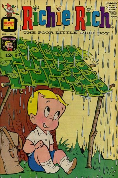 Cover for Richie Rich (Harvey, 1960 series) #72