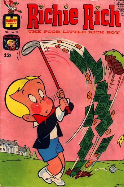 Cover for Richie Rich (Harvey, 1960 series) #78
