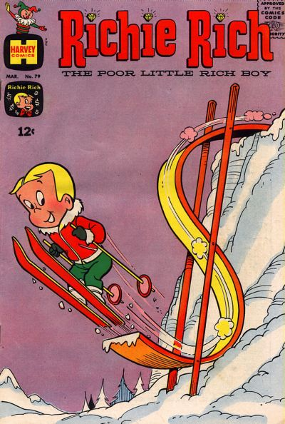 Cover for Richie Rich (Harvey, 1960 series) #79