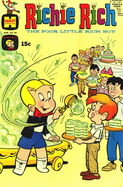 Cover for Richie Rich (Harvey, 1960 series) #84