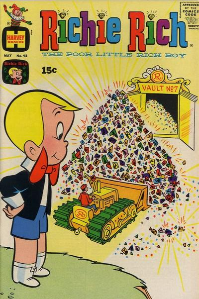 Cover for Richie Rich (Harvey, 1960 series) #93