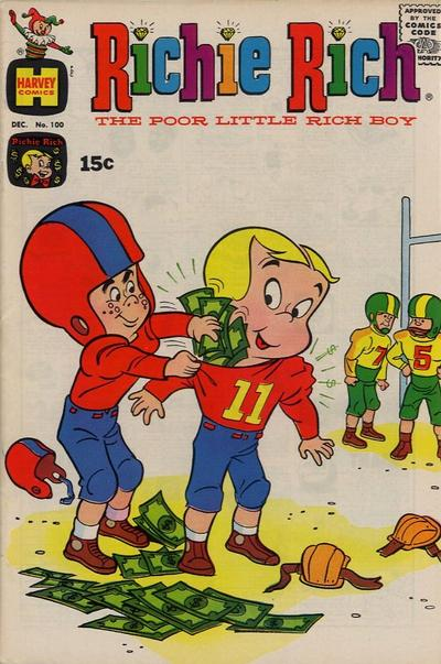 Cover for Richie Rich (Harvey, 1960 series) #100