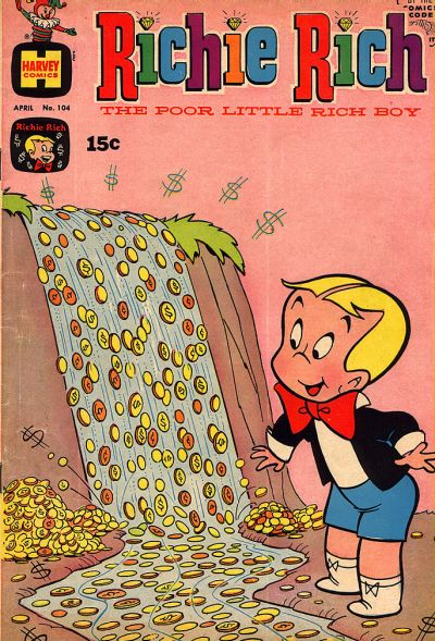 Cover for Richie Rich (Harvey, 1960 series) #104