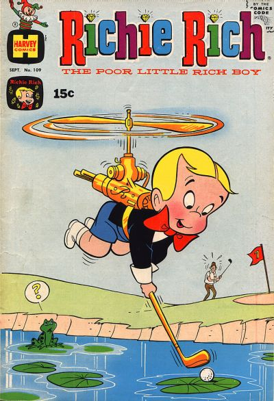 Cover for Richie Rich (Harvey, 1960 series) #109