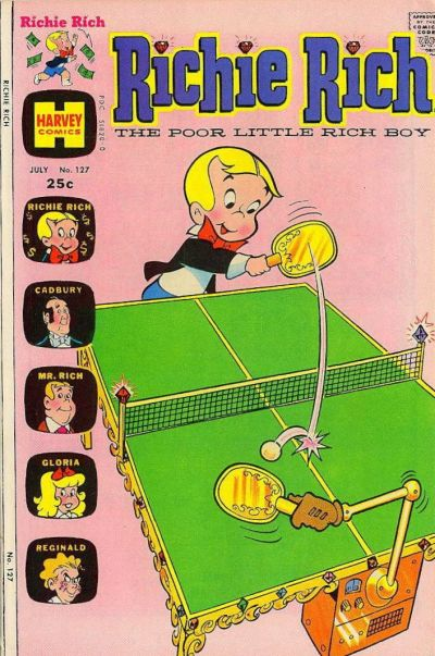 Cover for Richie Rich (Harvey, 1960 series) #127