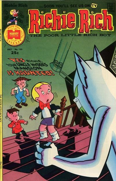 Cover for Richie Rich (Harvey, 1960 series) #133