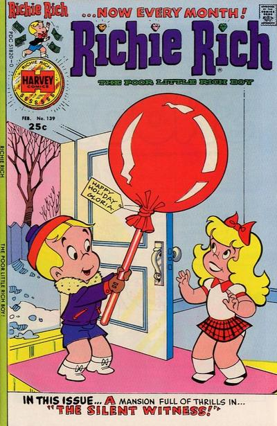 Cover for Richie Rich (Harvey, 1960 series) #139